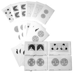 Lot de 5 jeux de 18 Stéréogrammes différents