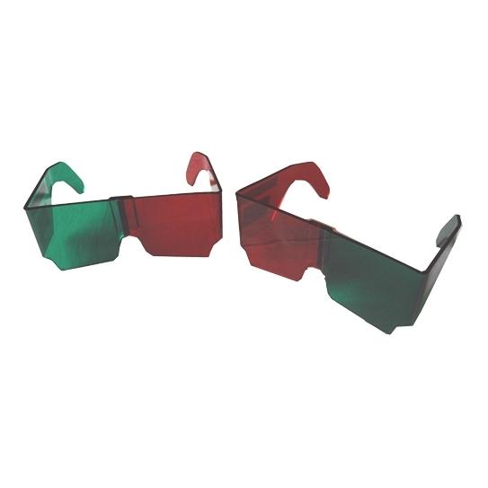Lunettes Casque rouge / vert de Gracis