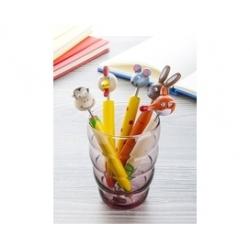 stylo avec animal